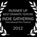 19 SF_Indie Gathering_laurel_Runner Up Best Dramatic Feature bw