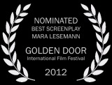 31 SF_GDIFF_laurel_Nominated Best Screenplay bw