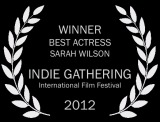 37 SF_Indie Gathering_laurel_Best Actress bw