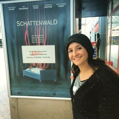'Schattenwald' Premiere im Cadillac & Veranda Kino, München - Laura Thies