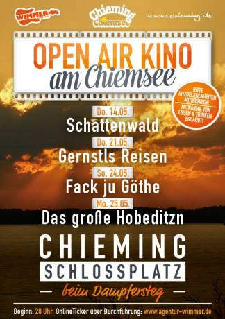 'Schattenwald' beim Open Air Kino am Chiemsee