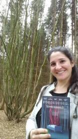'Schattenwald' DVD beim Drehort - Laura Thies