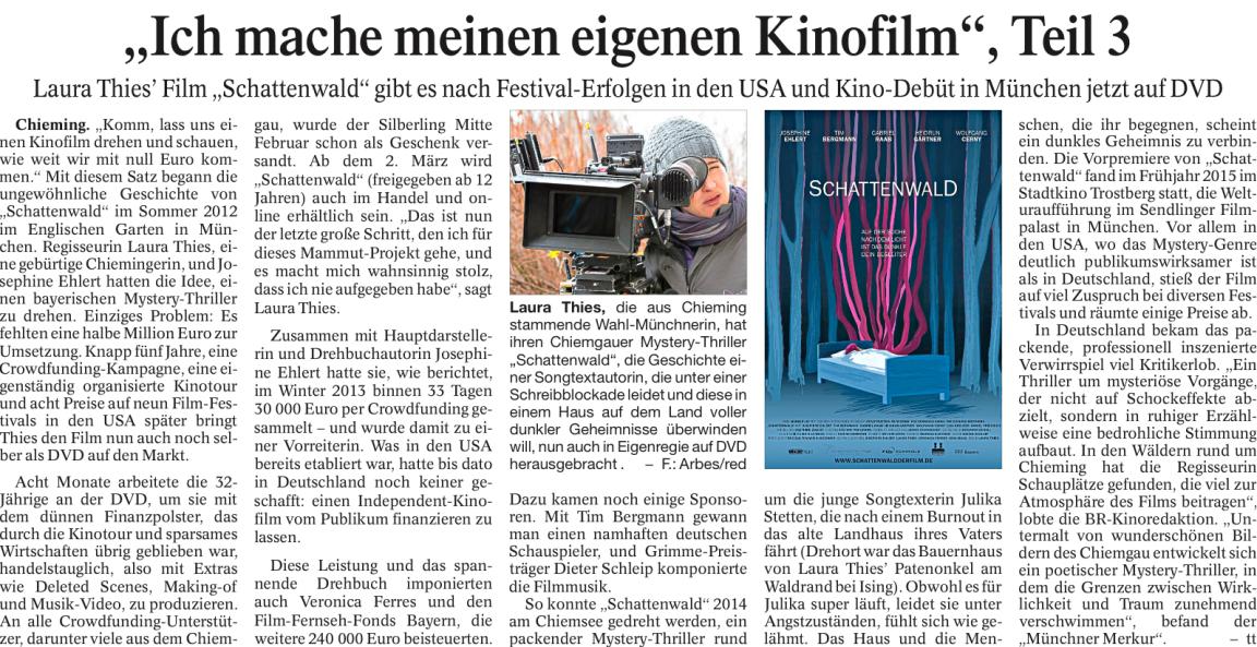Trostberger Tagblatt, 22.02.2017